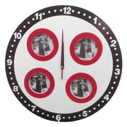 Creative Motion 15.5'' 4 Round Frame Wall Clock