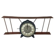 Creative Motion Airplane Desk Clock