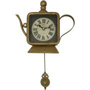 Creative Motion Tea Pot Wall Clock