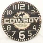 Creative Motion 13.38'' Cowboy Clock