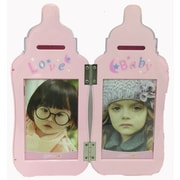Creative Motion Bottle Picture Frame; Pink