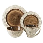 American Atelier Piper Stoneware 16 Piece Dinnerware Set