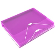 SAMSILL CORPORATION Duo 2 in 1 Binder; Orchid