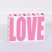 Adams & Co Love Sign Decor