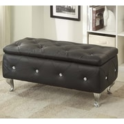 AC Pacific Storage Bench; Black