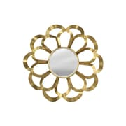 Style Craft Gold Petal Wall Mirror