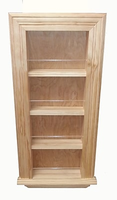 WG Wood Products 29.5'' Traditional Frame Spice