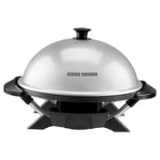 George Foreman Indoor/Outdoor Electric Grill with Lid
