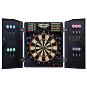 Escalade Sports E-Bristle 3 Piece 1000 LED Electronic Dartboard Cabinet Set