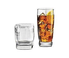 Libbey Carrington 16 Piece Glass Set WYF078277753102