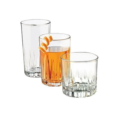 Libbey Brockton 24 Piece Glass Set WYF078277753106