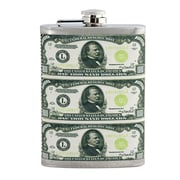 American Coin Treasure $1000 Hip Flask