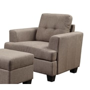 Emerald Home Furnishings Clearview Arm Chair; Brown