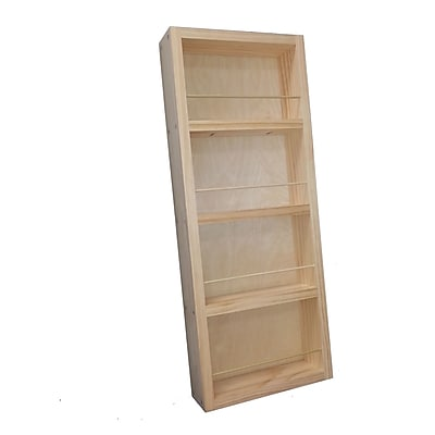 WG Wood Products Midland Wall Mounted Spice