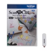Brother Sewing ScanNcut Applique Pattern Collection