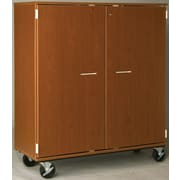 Stevens ID Systems Music 55'' Choral Folio Storage with Casters and Doors