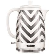 BELLA 1.9-qt Electric Tea Kettle in White
