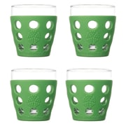 Lifefactory Everyday 10 oz. Juice Glass (Set of 4); Grass Green