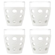 Lifefactory Everyday 10 oz. Juice Glass (Set of 4); Optic White