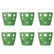 Lifefactory Everyday 10 oz. Juice Glass (Set of 6); Grass Green