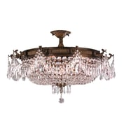 Worldwide Lighting Winchester 10 Light Semi-Flush Mount