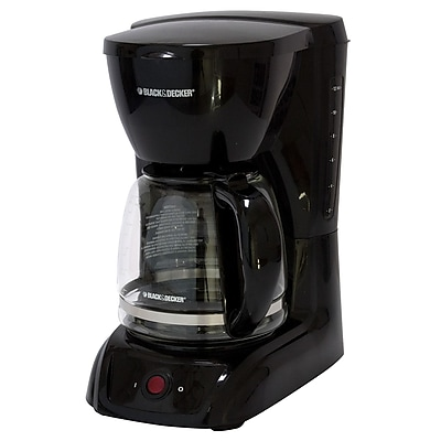 Black & Decker 12 Cup Switch Coffee Maker; Black WYF078279106632