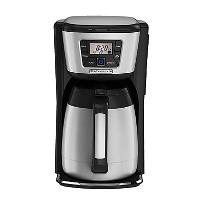 Black & Decker 12 Cup Programmable Thermal Coffee Maker WYF078279106635