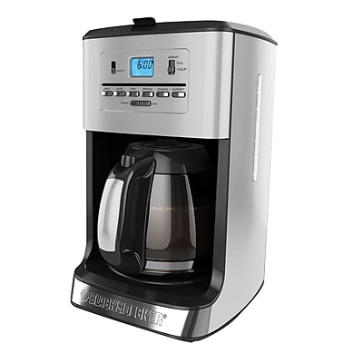 Black & Decker 12 Cup Programmable Coffee Maker WYF078279106636