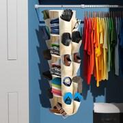 Sivan Carousel 10'' Deep 5 Tier Closet Organizer