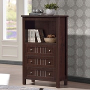 Wholesale Interiors Baxton Studio Cyclo 3 Drawer Storage Cabinet