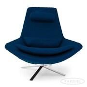 Kardiel Retropolitan Modern Wing Lounge Chair; Caribbean