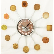 Creative Motion 15'' Cookies and Coffee Clock