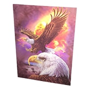 Creative Motion '3D Paint w/ American Eagles' Graphic Art on Canvas
