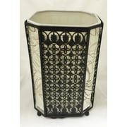 Creative Motion Deck top 11'' H Table lamp with Drum shade