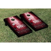 Victory Tailgate NCAA Metal Version Cornhole Game Set; Ohio Wesleyan OWU Battling Bishops