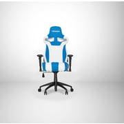 Vertagear High-Back Gaming Office Chair with Arms; White/Blue