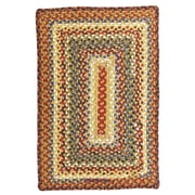 Homespice Decor Biscotti Hand-Crafted Braided Brown Area Rug; 1'8'' x 2'6''