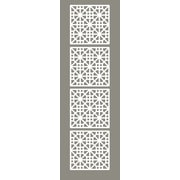 WallPops! 63'' x 15.75'' Medina 4 Panel Room Divider (Set of 4)