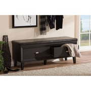 Wholesale Interiors Baxton Studio Emmett Wood Storage Entryway Bench