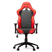 Vertagear High-Back Gaming Office Chair with Arms; Black/Red