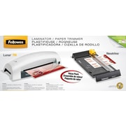 Fellowes® Lunar 95 Laminator with Neutrino Trimmer and Pouch Kit (5711601)