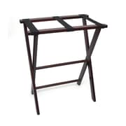 Lipper Right Height Luggage Rack - Espresso finish (501E)