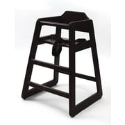 Lipper Child's High Chair-Espresso (516E)
