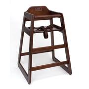 Lipper Child's High Chair- Walnut (516WN)