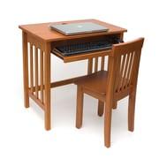 Lipper Child's Computer Desk - Pecan Finish  (574P)