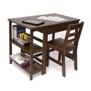 Lipper Child's Workstation/Desk - Walnut (584WN)