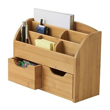 Lipper International Bamboo Space-Saving Desk Organizer (809)