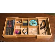 "Lipper Bamboo Exp Junk Organizer Expands to 20""  (8192)"