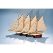 Authentic Models AS057A Mini Pond Yachts Set of 4 (AMUS1562)