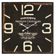 Aspire  Adele Square Wall Clock, Brown (ASPR536)